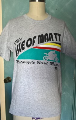 Isle of Man T shirt refashion